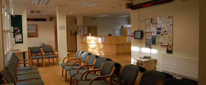 Whitley House Surgery Reception