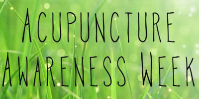 Acupuncture Awareness Week 2014