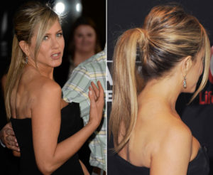 Jennifer Aniston cupping